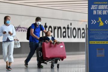UPDATED: England scraps quarantine for fully vaccinated U.S., EU arrivals