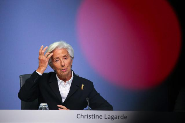 Euro zone economy suffering even as infections ease – ECB's Lagarde