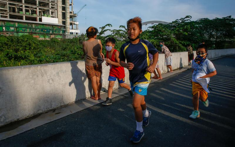 Adults, children must move more to stay fit in pandemic era – WHO