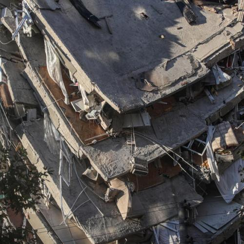 Photo Story: Scenes of the aftermath of 7.0 earthquake in Izmir, Turkey