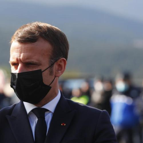 Macron says images of police beating Black man shameful for France