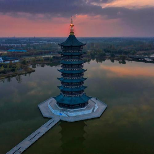 EPA's Eye in the Sky: Suqian, China