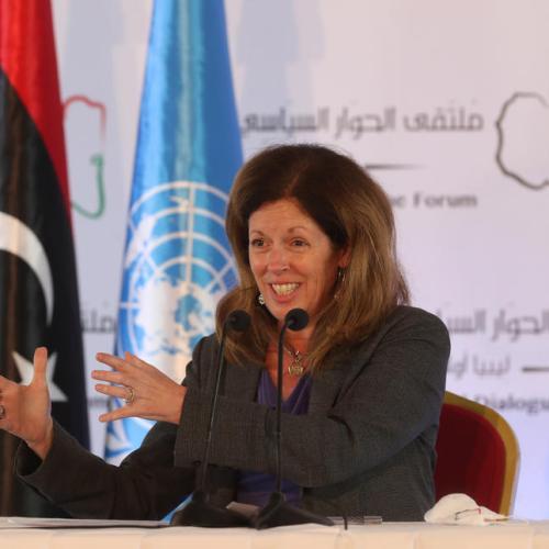 U.N. Libya envoy urges U.N. to blacklist anyone who obstructs peace talks
