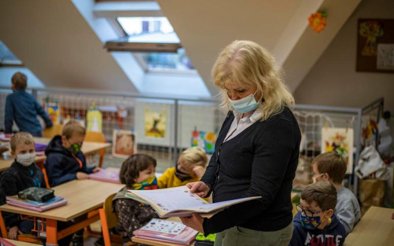 Czechs to allow more children in school as COVID cases drop