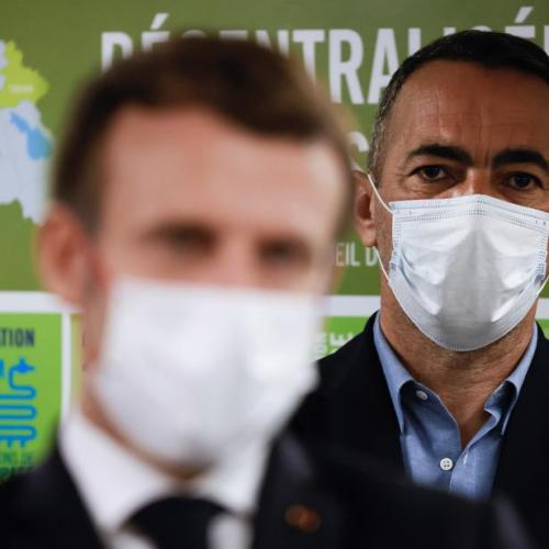 France's Macron eyes COVID-19 vaccination starting by year-end
