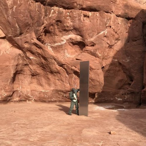 The mysterious metal monolith in the Utah desert has disappeared