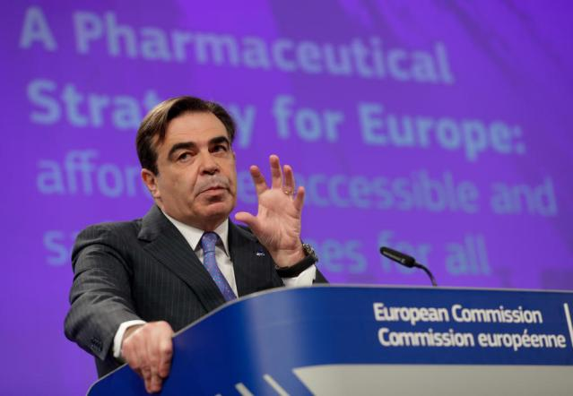 EU seeks to bypass patents to boost drugs access in crises