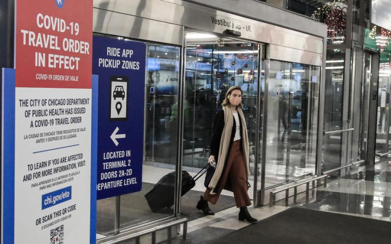 U.S. screens 1.63 million people at airports, highest since March 2020