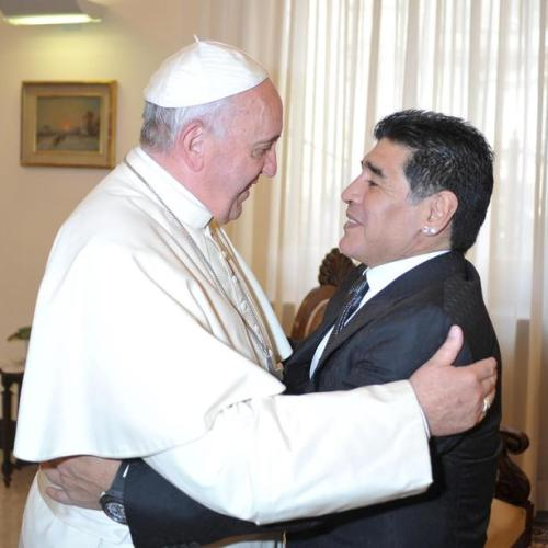Pope Francis remembers fellow Argentine Maradona affectionately, praying for him