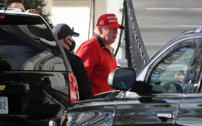Biden, Trump spend quiet Thanksgiving close to home as pandemic rages