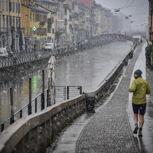 Photo Story: Snow in Milan