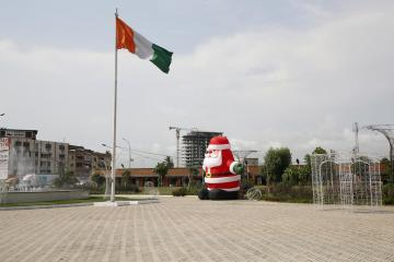 Photo Story: Christmas preparations in Abidjan