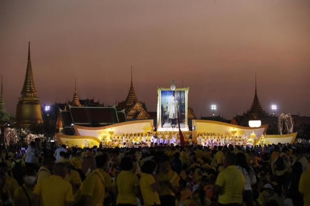Thailand commemorates the late Thai King Bhumibol