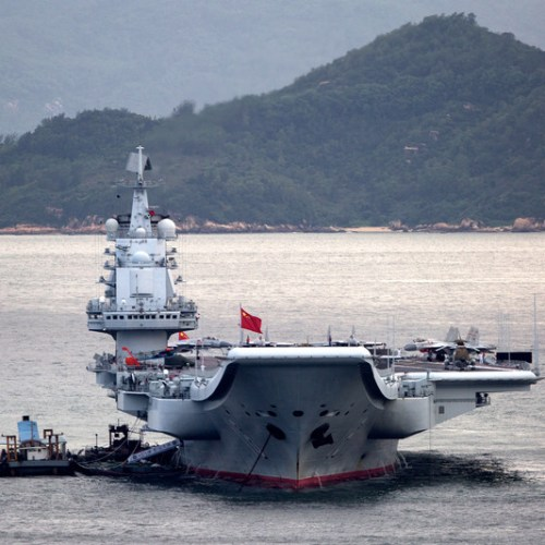 China sends aircraft carrier group to South China Sea for drills