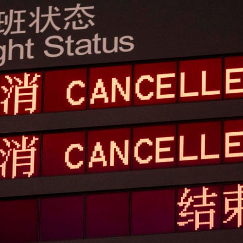 China to suspend UK flights indefinitely