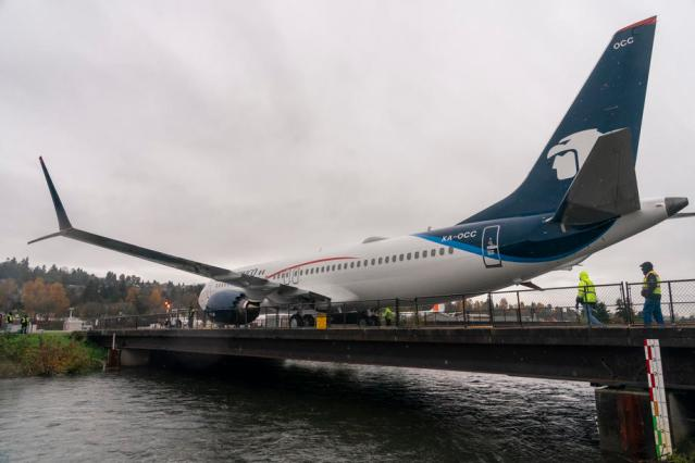 Boeing's updated 737 MAX completes first flight with media onboard
