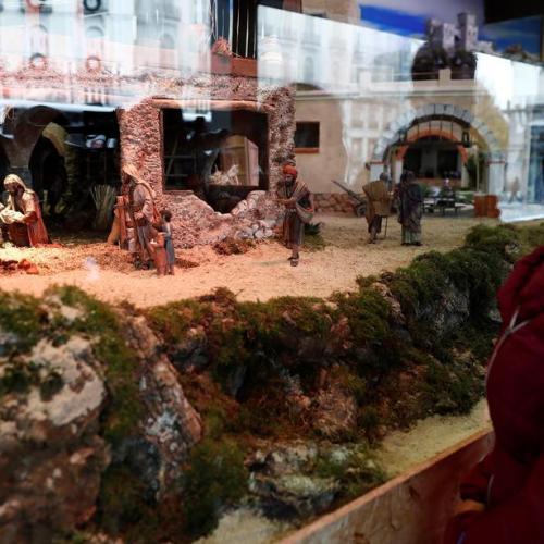 Photo Story: Huge nativity scene in Madrid