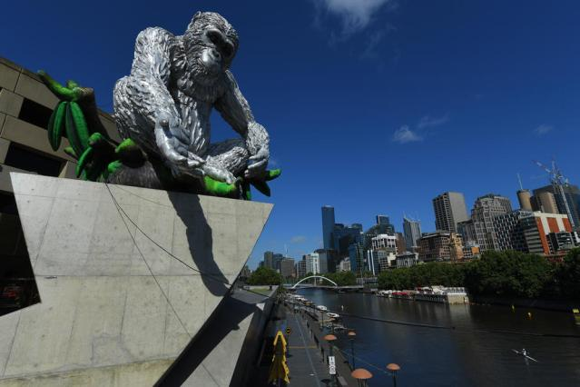 Photo Story: Unusual sculpture unveiled in Melbourne