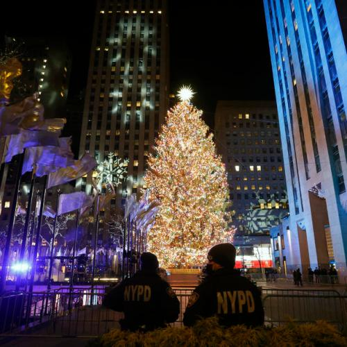 Photo Story: The Annual Rockefeller Center Christmas tree lighting ceremony in New York