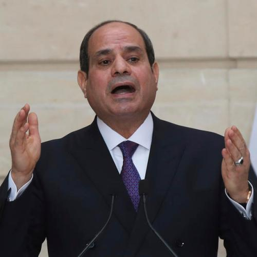 Egypt's Sisi opens naval base close to border with Libya