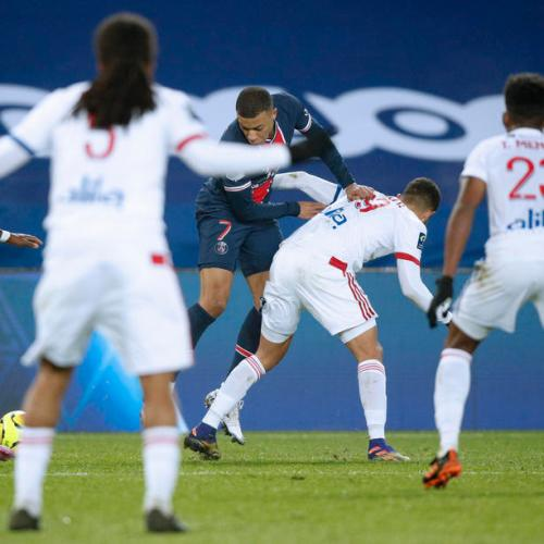 PSG lose at home to Lyon, surrender top spot to Lille