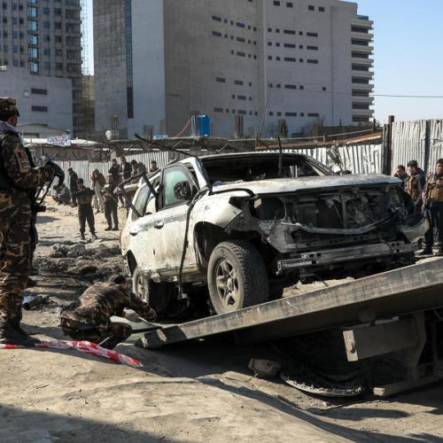 Kabul deputy governor killed in bomb attack