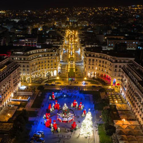 Photo Story: Christmas decorations in Thessaloniki Greece