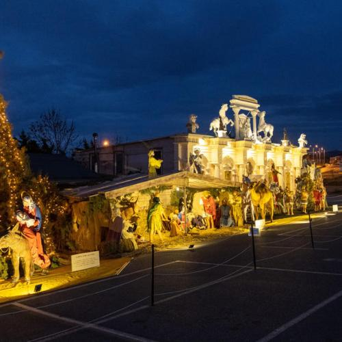 Photo Story: Europe's largest Christmas Nativity Scene in Thessaloniki, Greece