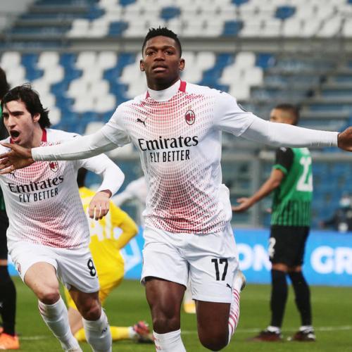 Milan's Rafael Leao scores fastest goal in Serie A