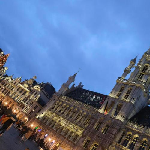 Photo Story: Christmas decoration in Brussels