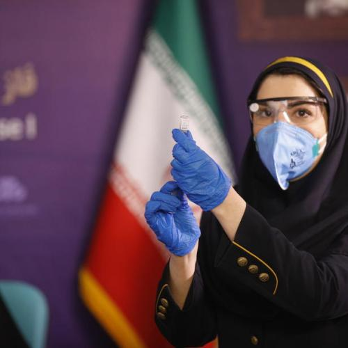 Iran starts human testing of first domestic COVID-19 vaccine
