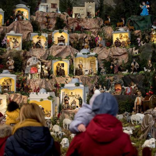 Photo Story: The traditional Nativity scene in the Church of St. Bernardine of Siena in Krakow