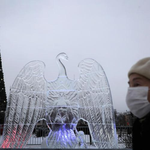 Photo Story: The Ice sculpture festival in Podolsk, Russia