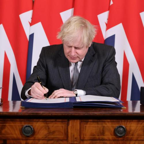 Five years after 'Leave' vote – Brexit trade deal becomes law