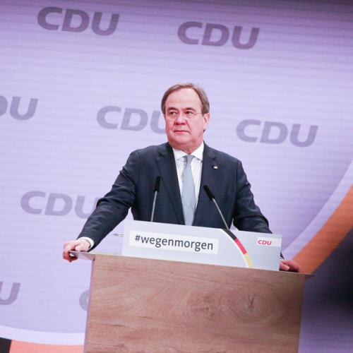 Poll shows low support for new CDU head as Merkel successor
