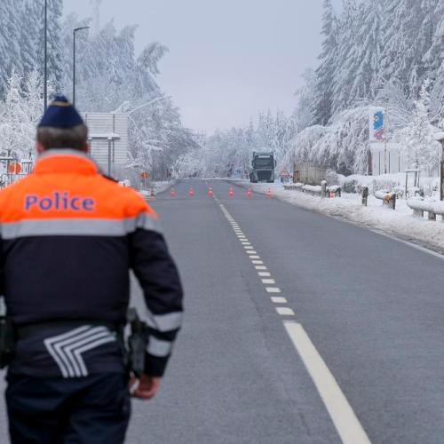 Photo Story: Snow in Belgium