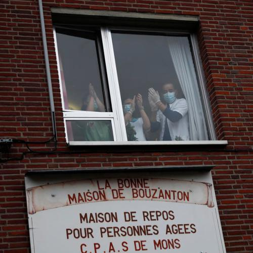 Cases in Belgium continue to drop