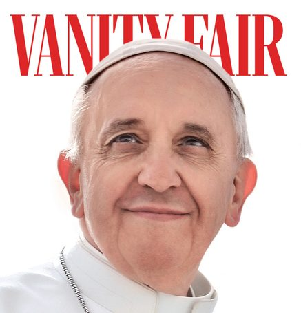 "Pope Francis encyclical ""Fratelli Tutti"" makes it to Italy's Vanity Fair front cover"