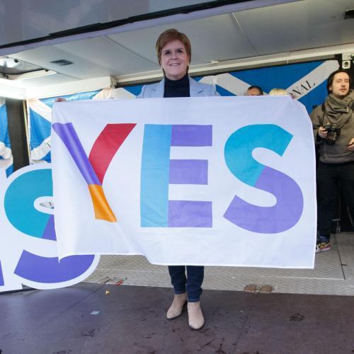 Stop endless referendum talk, UK PM Johnson tells Scotland