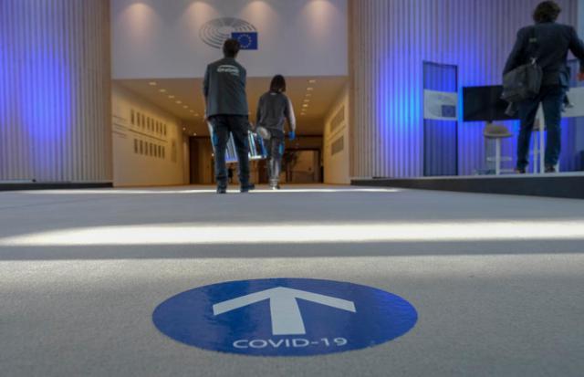 Privacy complaint targets European Parliament's virus test site