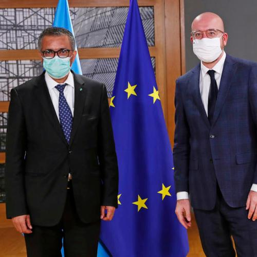 UPDATED: WHO chief welcomes EU Council proposal for pandemic preparedness treaty