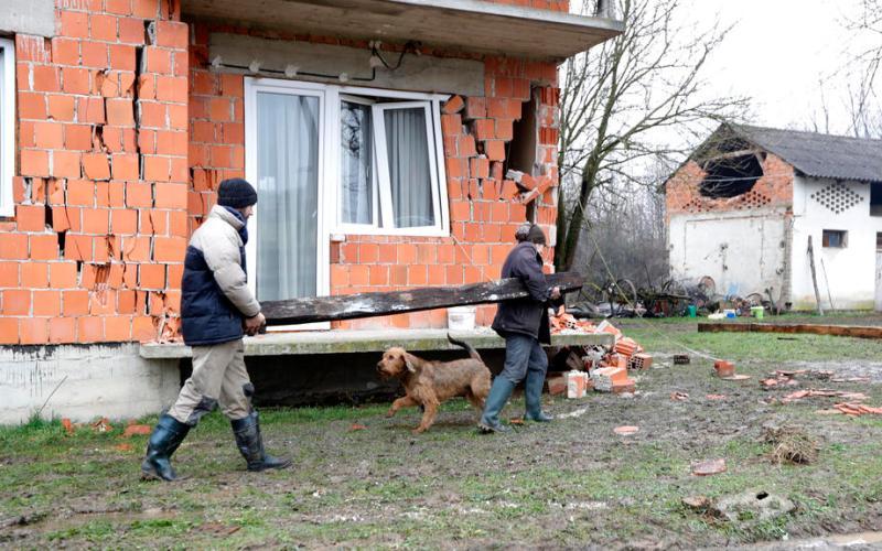 New tremor rattles Croatia