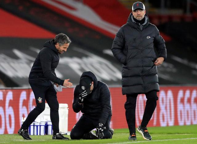 Liverpool register second loss of PL season at Southampton