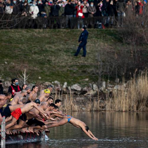 Photo Story: Icy river dip for Epiphany celebrations in Bulgaria
