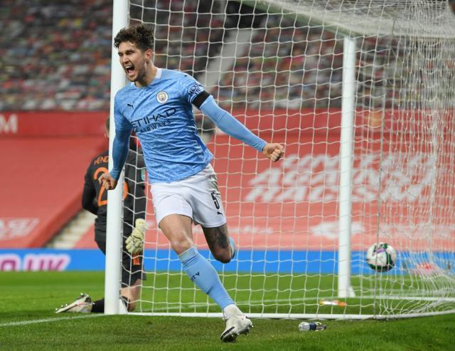 Stones resurgence at Man City delights Guardiola