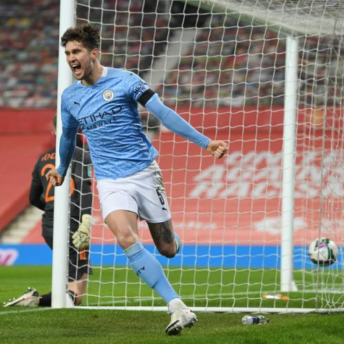 Stones resurgence at Man City delights Guardiola
