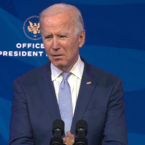 Biden vows to restore faith in U.S. law with Justice Dept nominees