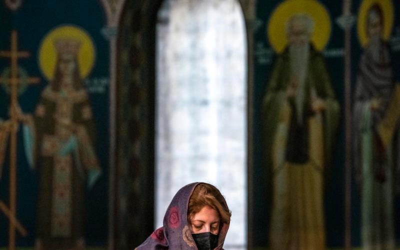 Photo Story: Christmas mass in Skopje