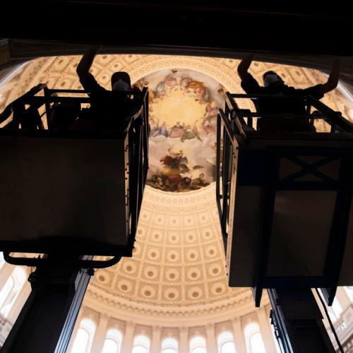 Washington mayor asks for increased security around Biden's inauguration
