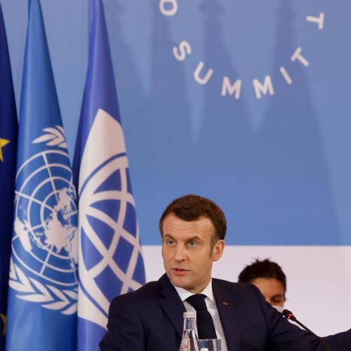 Russian court made 'huge mistake' in jailing Navalny -Macron